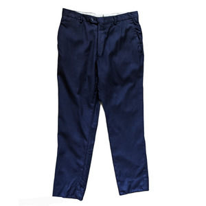 Loro Piana Cremieux Collection Wool Trousers Navy